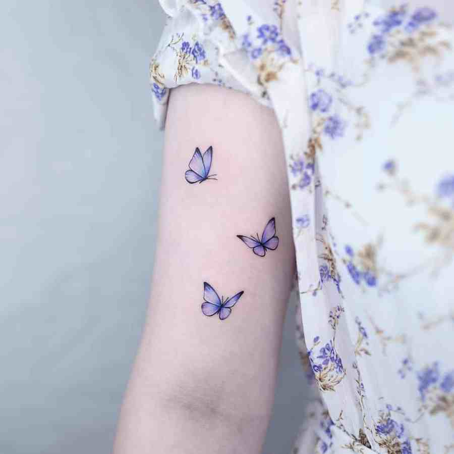 Small Butterfly Tattoo 2020110923 - 20+ Cute Small Butterfly Tattoo Designs and Ideas