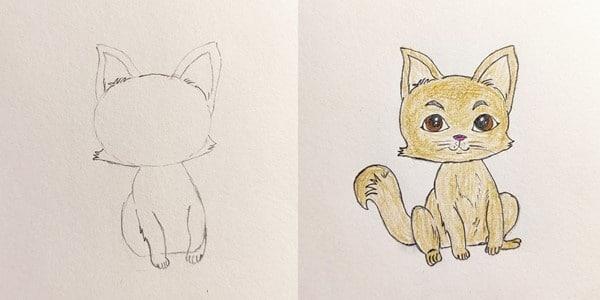 Draw-Cute-Cat-20201210