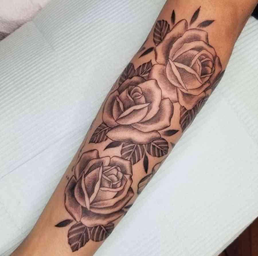 Rose Tattoo Ideas 2021011307 - Stunning Rose Tattoo Ideas for Women