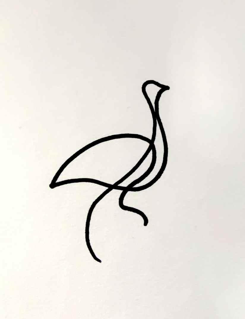 Easy One Line Drawings 2021022301 - 10 Easy One Line Drawings for Beginners