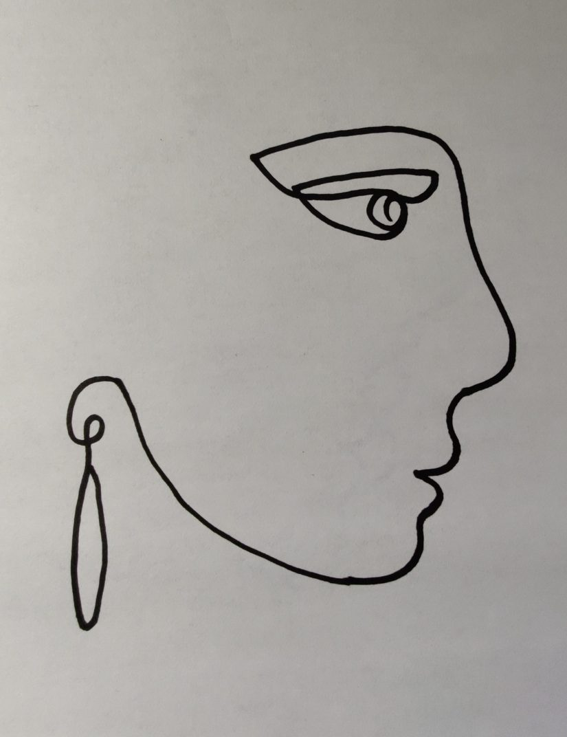 IMG 20210218 001015 scaled - Learn How to One Line Drawing Face