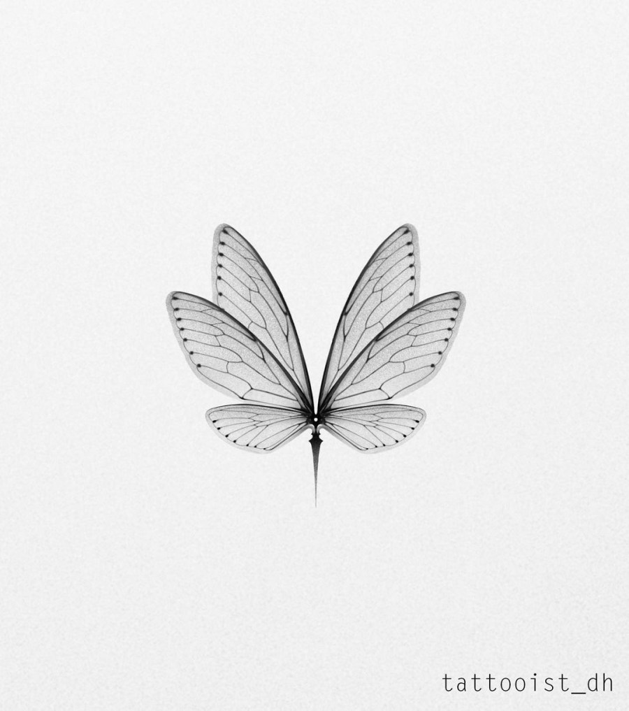 Wing Tattoo 2021031609 - 11 Wing Tattoo Ideas Emerge Inspiration