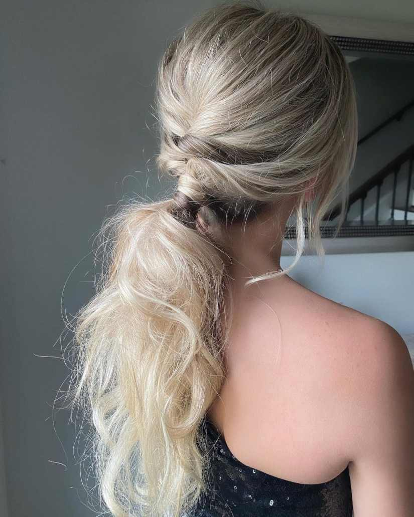 ponytails 2021041501 - A Few Attractive Ponytails to Try in Summer