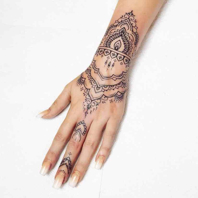 Mandala Tattoo 2021060702 - 10+ Mandala Tattoo Designs and Meanings