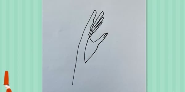 Drawing Hands in One Stroke-2021070803