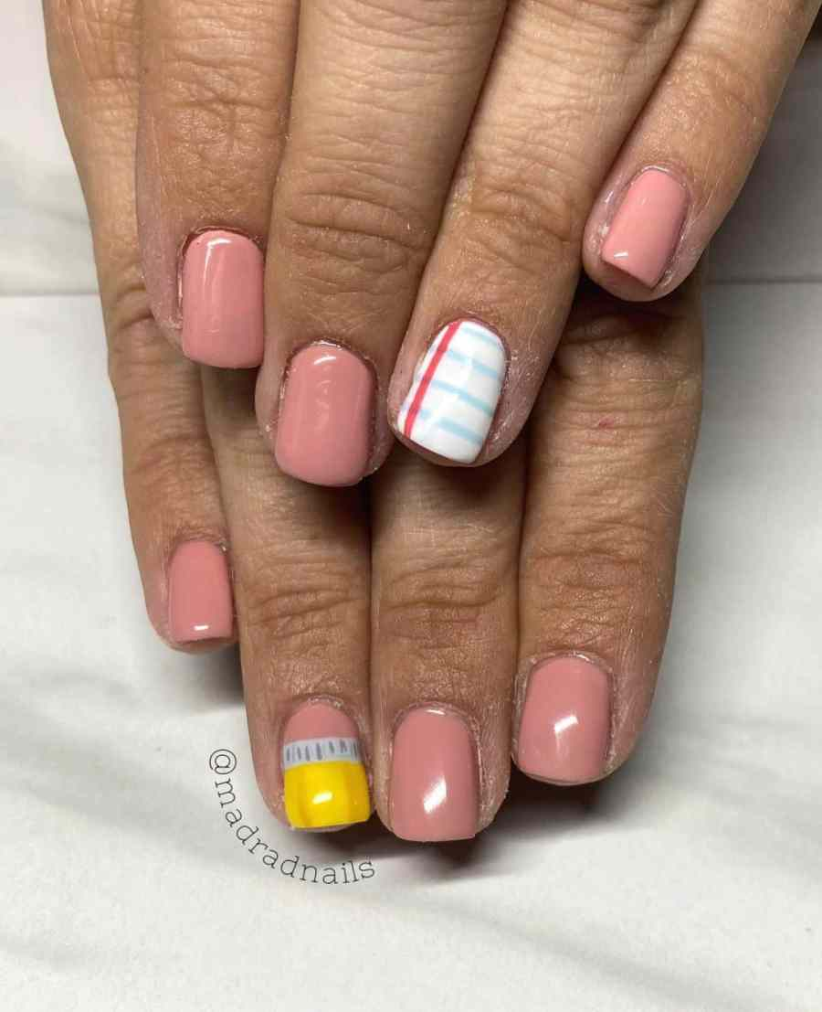 Back to School Nail 2021080705 - The Perfect Back to School Nail Designs