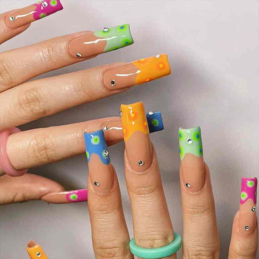 Green Nails 2021082202 - The Most Fashionable Green Nails to Impress You
