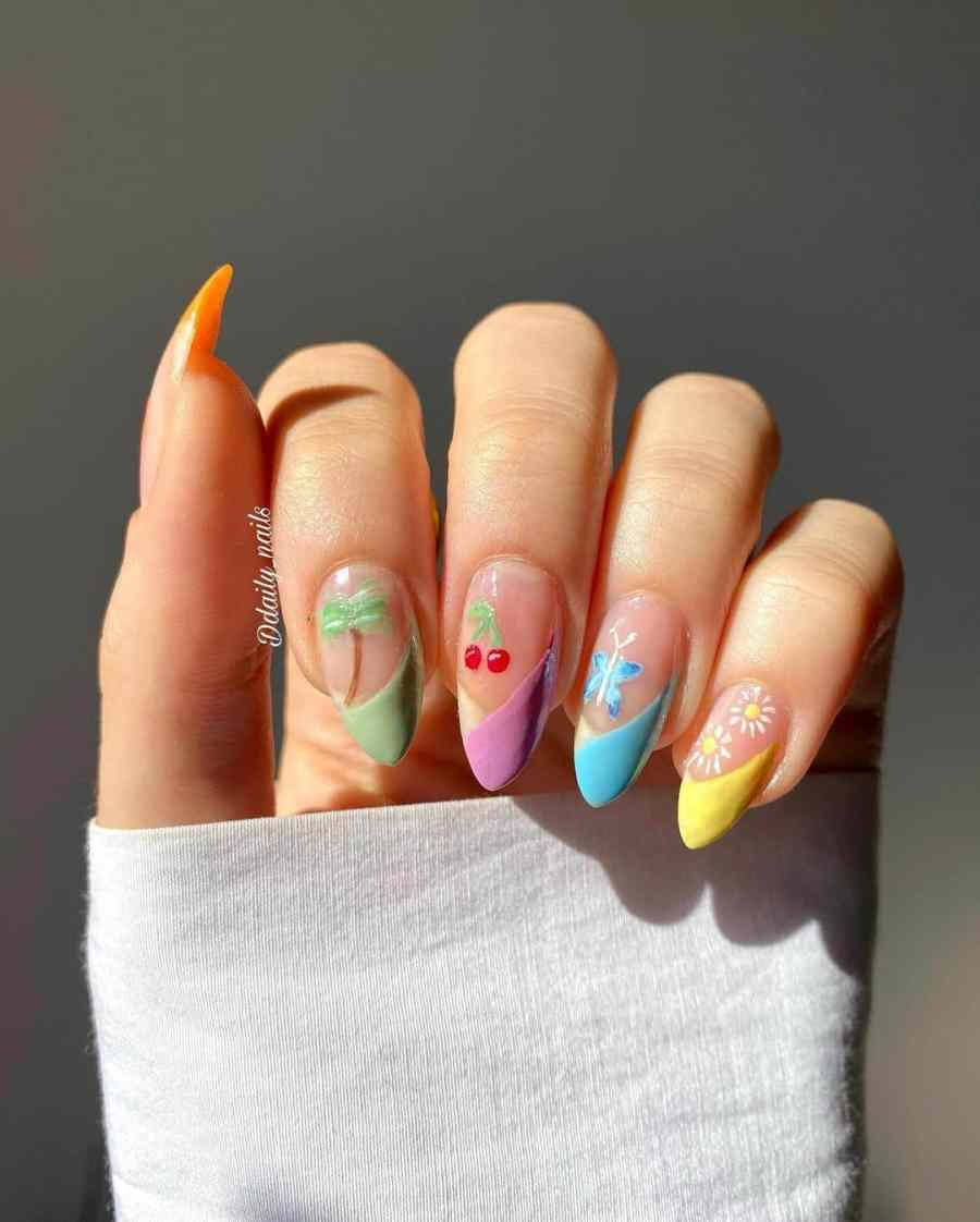 Green Nails 2021082204 - The Most Fashionable Green Nails to Impress You