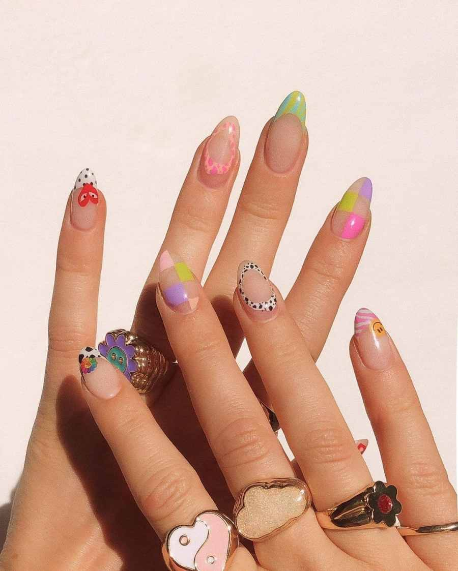 Green Nails 2021082212 - The Most Fashionable Green Nails to Impress You