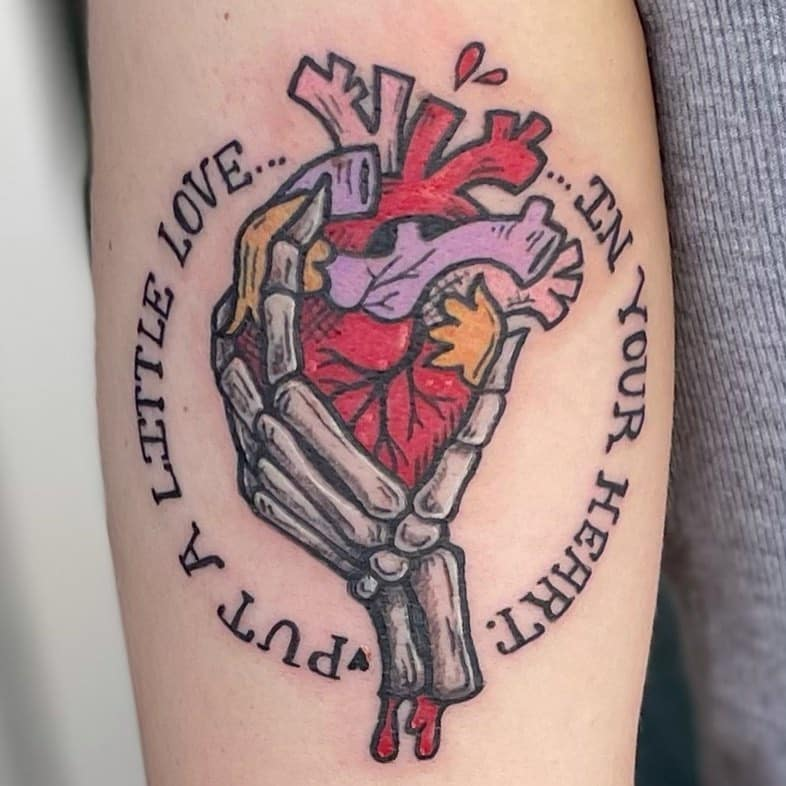Skeleton Hand Tattoo Meaning 2021081304 - Skeleton Hand Tattoo Meaning and Symbolism