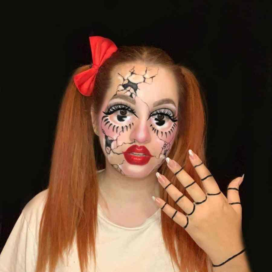 Easy Halloween Makeup 2021091009 - 10+ Easy Halloween Makeup Ideas Anyone Can Do Easily