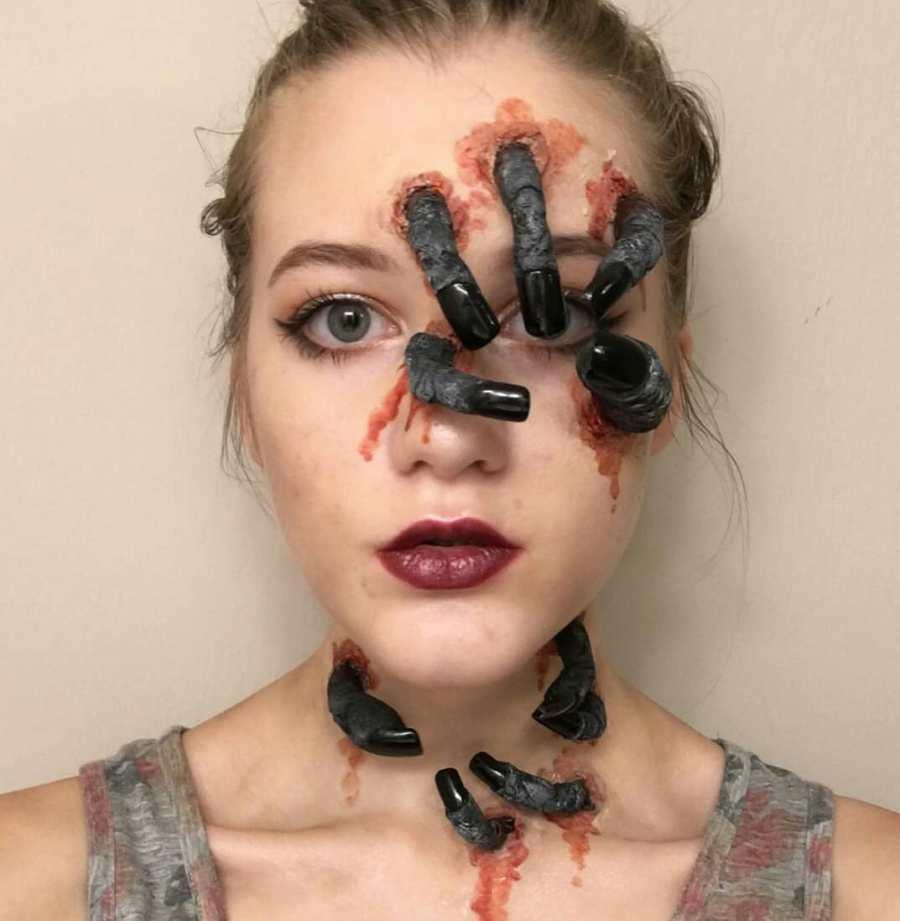 Easy Halloween Makeup 2021091013 - 10+ Easy Halloween Makeup Ideas Anyone Can Do Easily