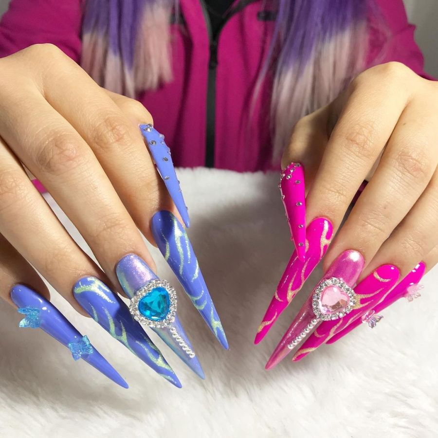Stiletto Nails 2021091205 - 20+ Amazing Stiletto Nails Ideas You Must To Try