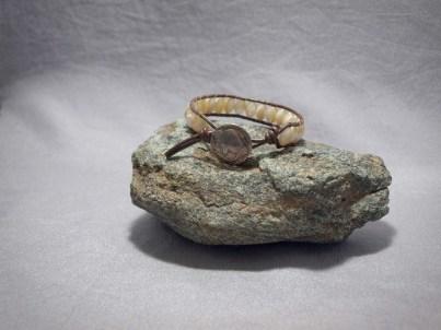 Single wrap bracelet Mother of Pearl