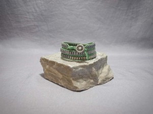 3 wrap bracelet Hematite Galvanized Silver