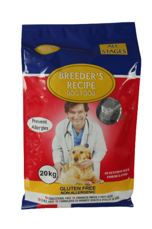 Breeders Recipe Beef Puppy 20