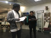 Studio 506's reading of You On The Moors Now at Humanity Boutique.