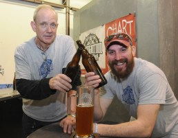 Navigation Brewing Co. was voted best beer at the 2014 Lowell WinterFest.