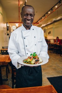 GreenSpoon Chef Danial Wainaina