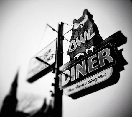 july-food-diners-owl-sign