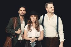 The Lone Bellow on Aug. 12