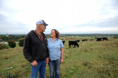 Paula Cruz runs one of the region's best grass-fed beef operations at Springdell Farm. Photo by Tory Germann.
