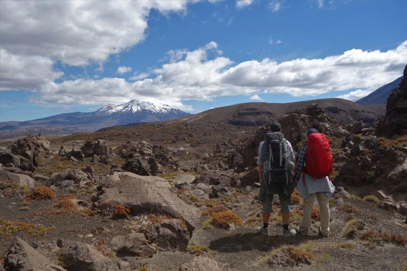 Day 2 - The Oturere Valley overlooking Mount Ruapehu