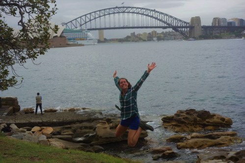 At Mrs Macquarie's Point
