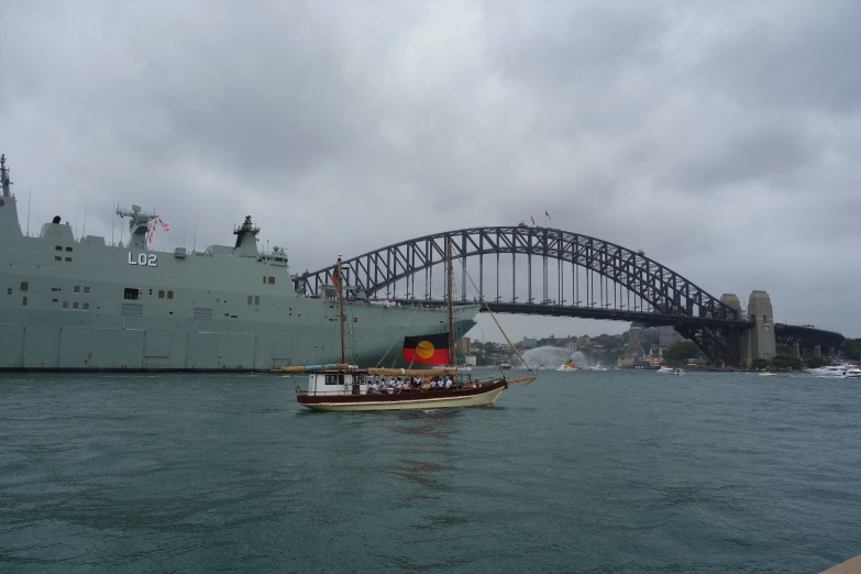 Australia Day at the harbour