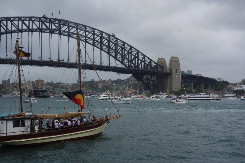 Australia Day at the harbour - chaos on the water