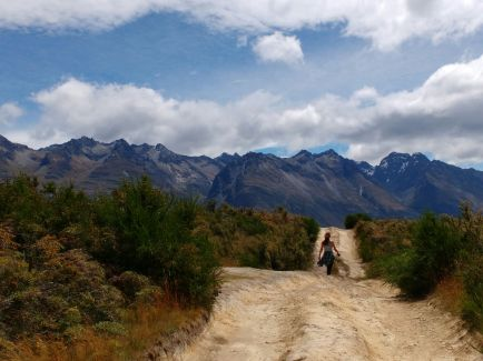 On the Queenstown - Glenorchy road
