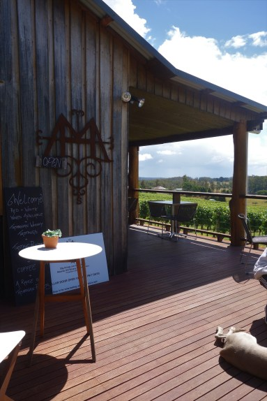 Moores Hill winery in the Tamar Valley