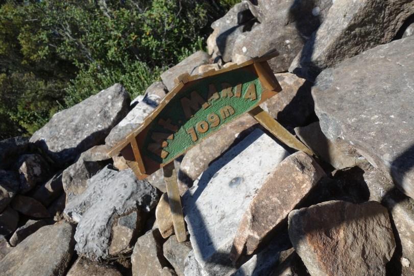 Mount Maria summit