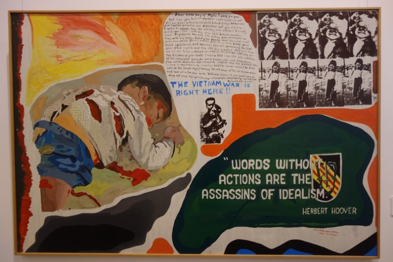 Artwork in the Art Gallery of Ballarat