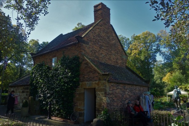 Captain James Cook's Cottage brought over all the way from England