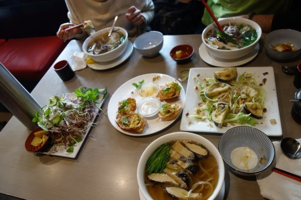 Vietnamese lunch in East Melbourne