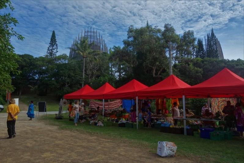 Tjibaou Cultural Centre market
