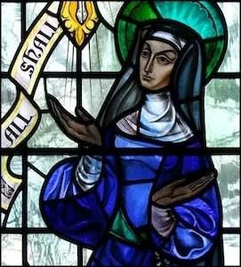 """""""All will be well."""" -  Jesus, via Julian of Norwich"""