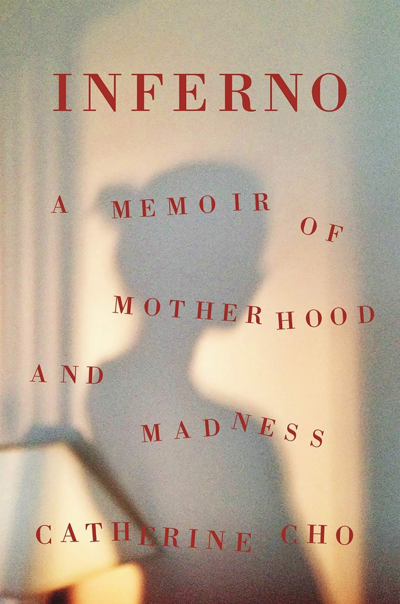 Cover of Inferno by Catherino Cho. Cover shows a woman's shadow against a wall.