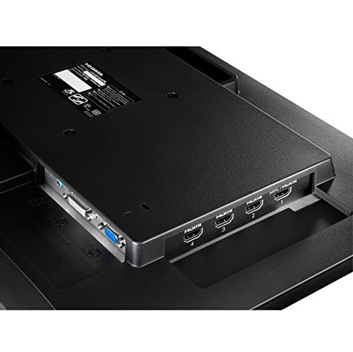 HDMI×4 + DVI-D + D-Sub + ヘッドフォン出力 + ステレオスピーカー