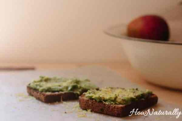 Vegan bread paste- celery and pumpkin seeds pate