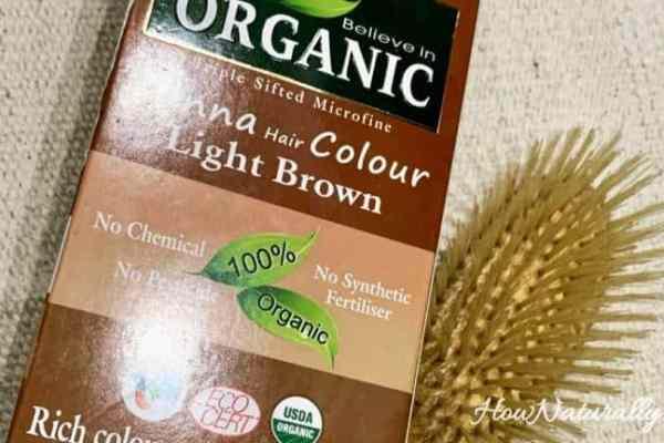 Indus Valley, Bio Organic, light brown hair henna