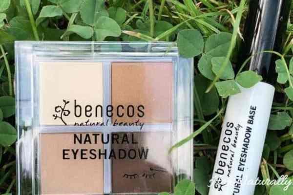Benecos | Quattro Coffee & Cream eyeshadows and base