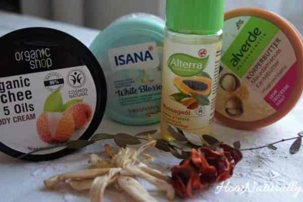 Natural body cosmetics for fall and winter   Top 5