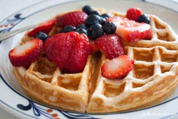 Sweet keto waffles   ketological recipes