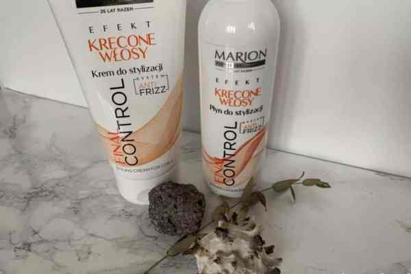 Marion Curly hair, Final Control cream and lotion