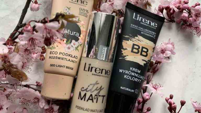 Lirene, three light skin foundations | makeup