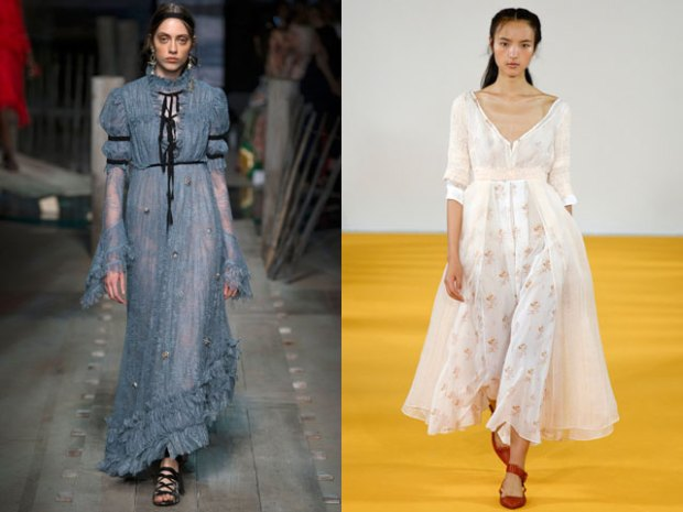 What dresses to wear in spring 2018