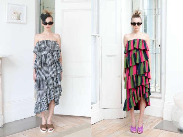 Smock dresses 2017 Spring Summer