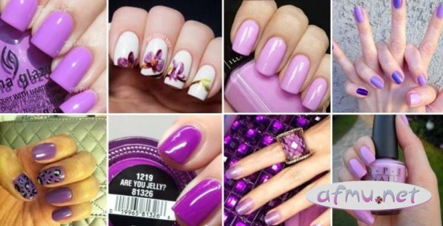 Trendy color Manicure